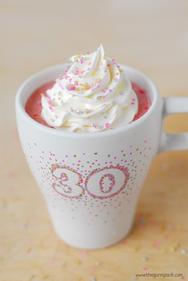 Sprinkles Coffee Cup