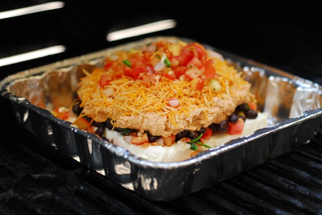 Taco Dip On The Grill