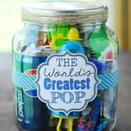 World's Greatest Pop Gift In A Jar