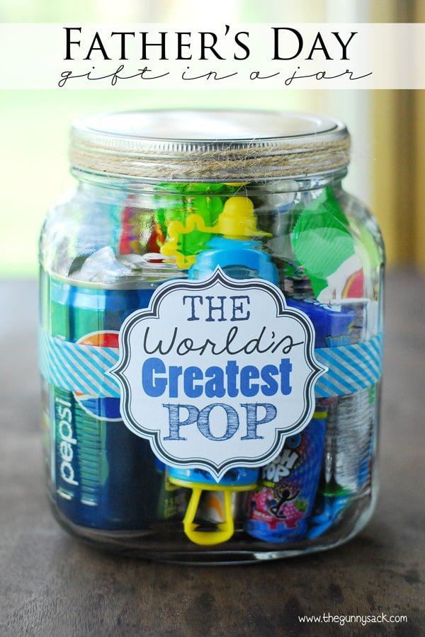 Father S Day Gift Ideas World S Greatest Pop Gift In A Jar