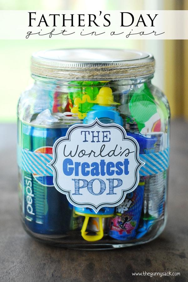 Father\u0027s Day Gift Ideas World\u0027s Greatest Pop Gift In A Jar
