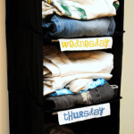 Back to School Clothes Organization