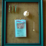 Framed Wire Memo Board