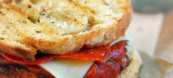 Bacon Cheddar Pizza Chicken Sandwich Recipe