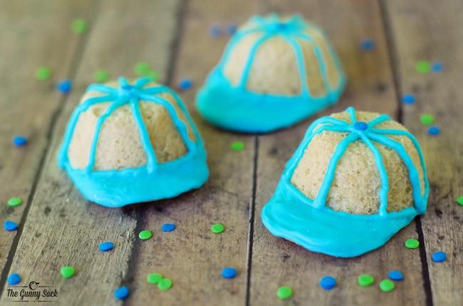 Baseball Hat Cookies | thegunnysack.com