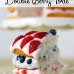 Double Berry Torte Recipe #WalmartProduce