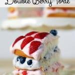 Double Berry Torte Recipe #WalmartProduce