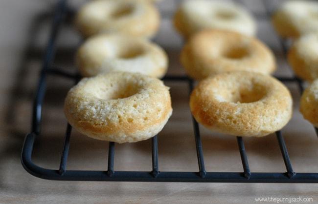 Homemade Mini Doughnuts