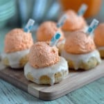 Orange Creamsicle Doughnuts