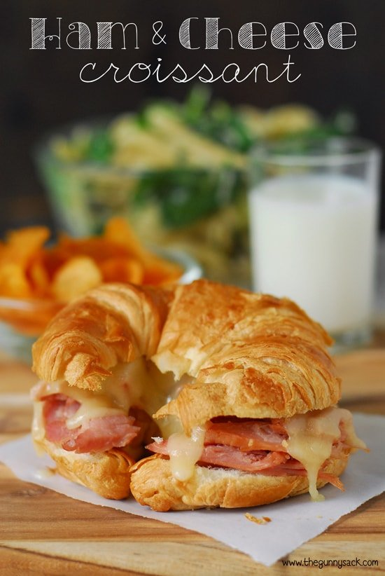 The Best Ham And Cheese Croissants The Gunny Sack