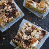 S'mores Rice Krispies Recipe