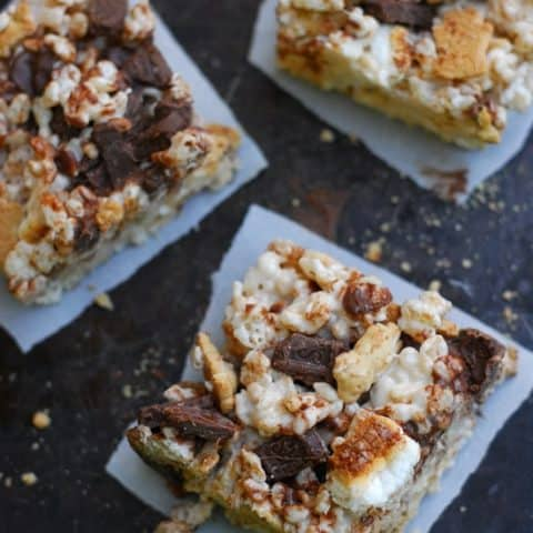 Smores Rice Krispies