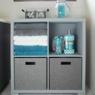 Bathroom Storage Cabinet Makeover