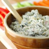 Creamy Spinach and Artichoke Dip Recipe