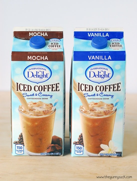 ice coffee cartons