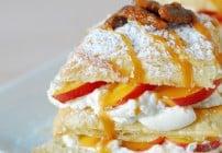 Peach Napoleon Recipe #WalmartProduct