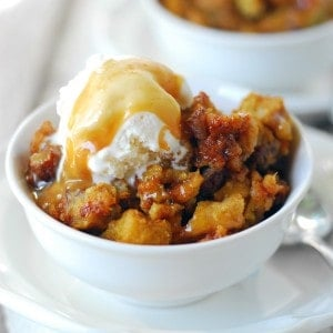 Pumpkin Pecan Bread Pudding