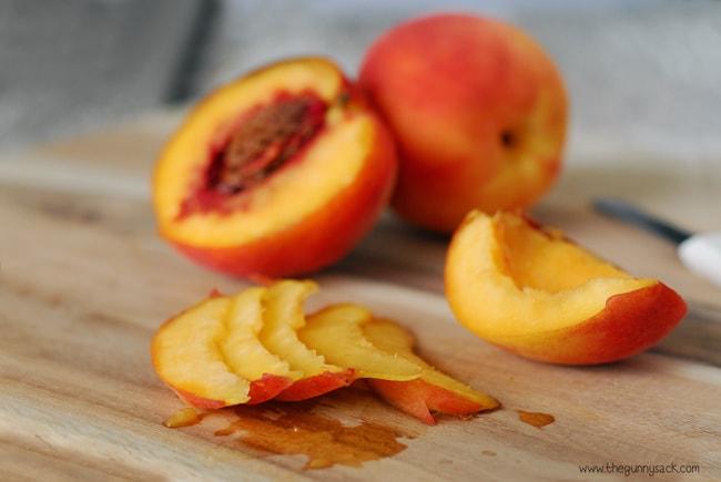 Sliced Peaches #WalmartProduce
