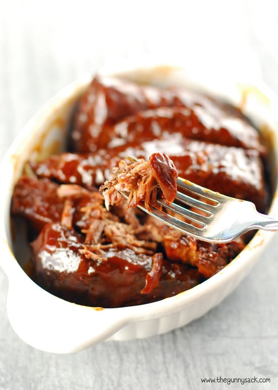 Fork Tender Slow Cooker BBQ Ribs Recipe