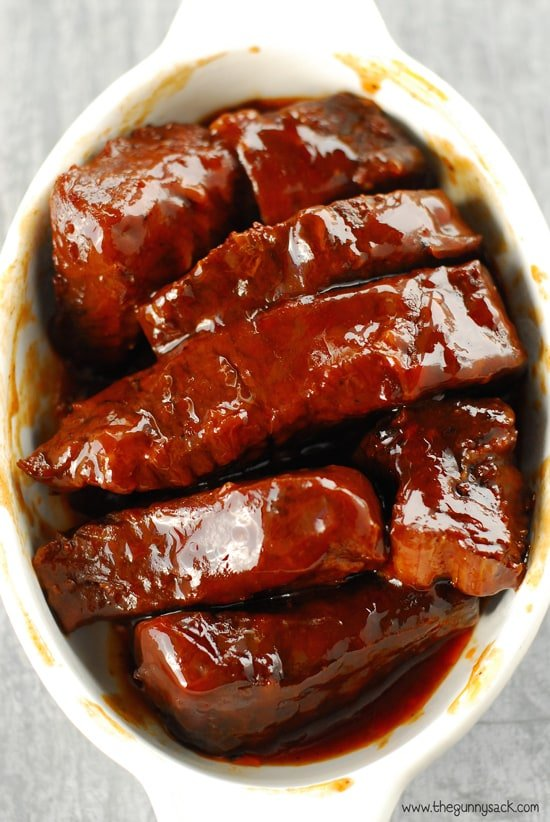 Crock Pot Barbecue Ribs Recipe