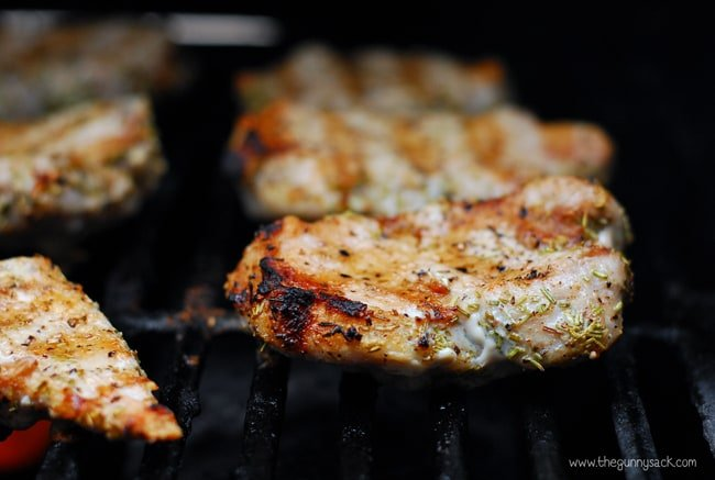 Grilled pork recipe