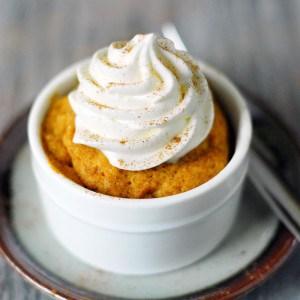 60 Second Pumpkin Cake Recipe