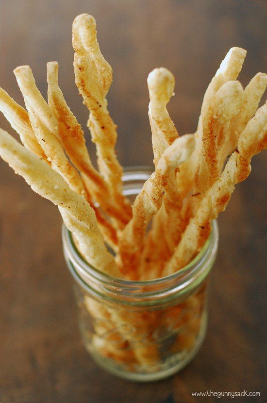 Crispy Italian Breadsticks Recipe The Gunny Sack