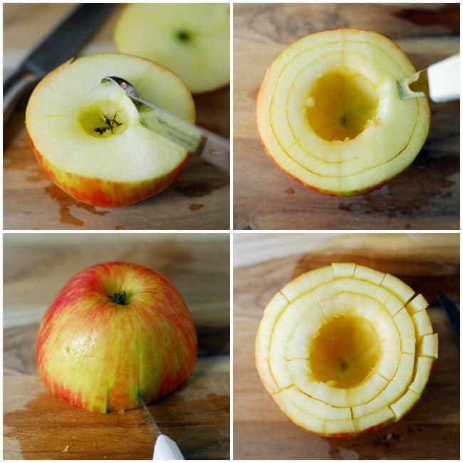 Sliced Bloomin Apple