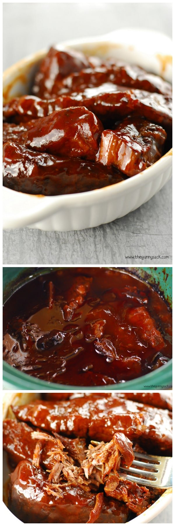 how to cook ribs in slow cooker with bbq sauce