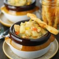 Slow Cooker Chicken Pot Pie Soup Recipe