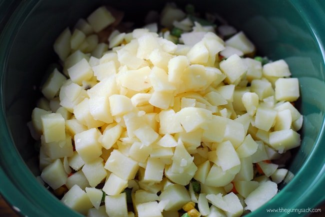 Slow Cooker Soup Ingredients