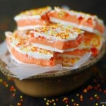 Candy Corn Truffle Bark Recipe