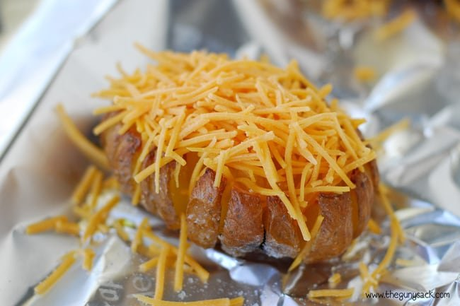 Cheesy Baked Potato