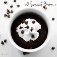 60 Second Brownie For One
