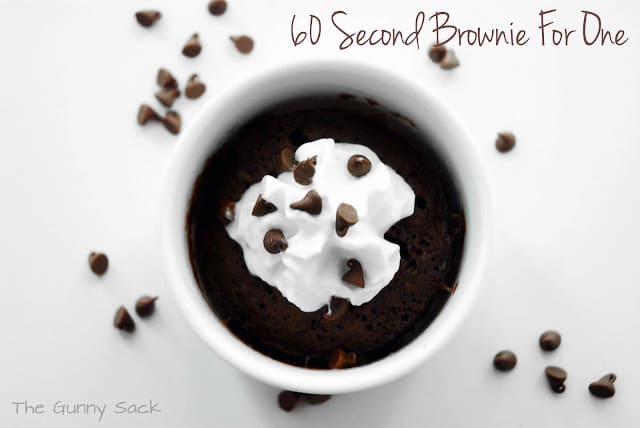 Chocolate Mug Brownie Recipe