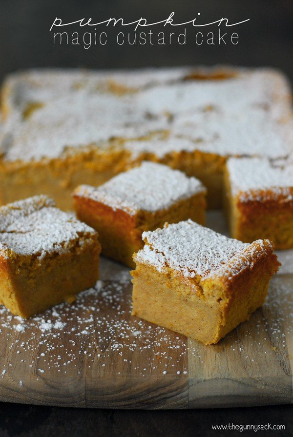 Pumpkin Magic Custard Cake Recipe The Gunny Sack