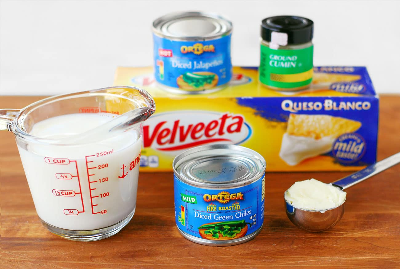 Velveeta Queso Blanco Cheese Dip Recipe