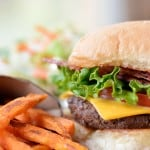 Bacon Cheeseburger Sweet Potato Fries