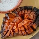 Blooming sweet potato recipe