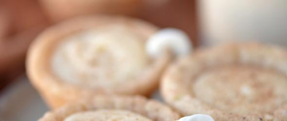 Eggnog Cookie Cups