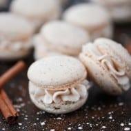 Eggnog Macarons Recipe