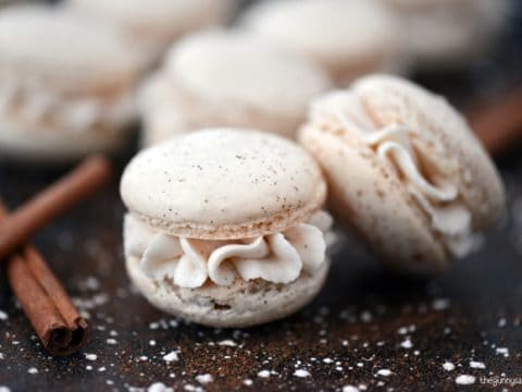 Eggnog Macarons Recipe The Gunny Sack