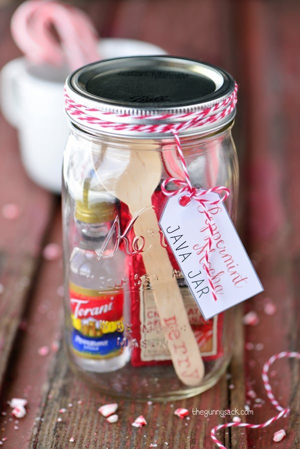 Peppermint Mocha Java Jar