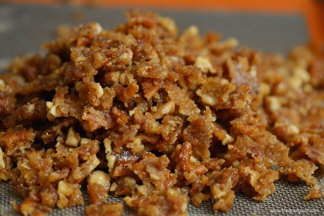 Sugared Pretzels and Pecans