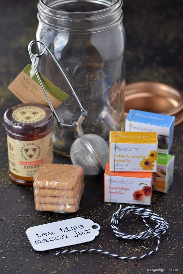 Tea Time Mason Jar Gifts The Gunny Sack