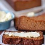 Grain free pumpkin bread