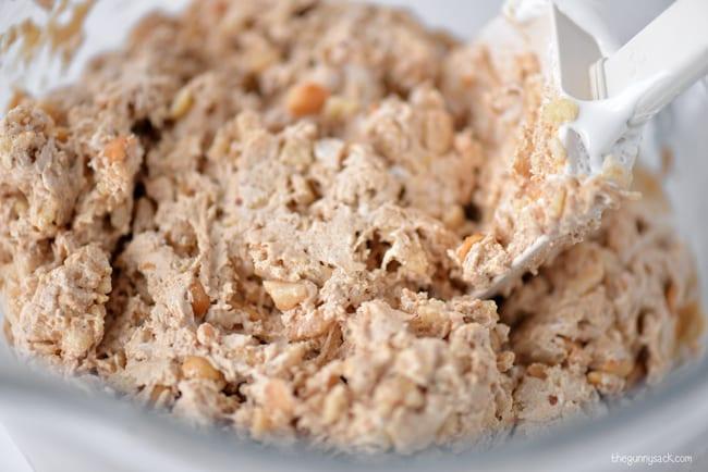 Marshmallow Peanut Butter Cookie Dough
