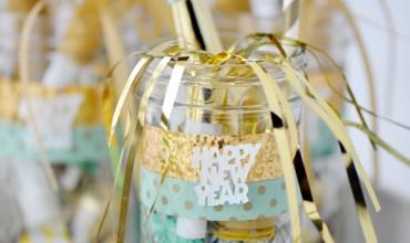 New Year's Eve Mason Jars