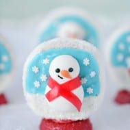 Snow Globe Christmas Treats