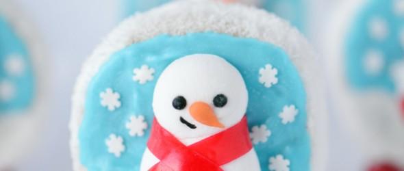 Snow Globe Christmas Treats